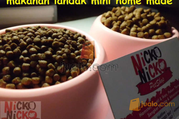 Nicko Petshop Depok Makanan Pakan Landak Mini Depok Jualo