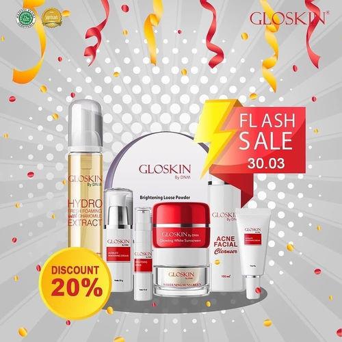 Gloskin Flash Sale Diskon 30% (24864107) di Kota Jakarta Selatan