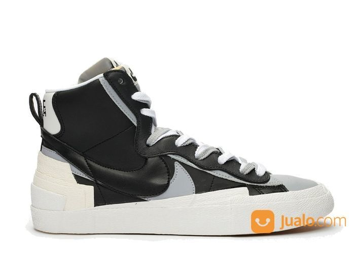 Nike Blazer Mid Sacai Black Grey - US size 11.5 (24916799) di Kota Jakarta Selatan
