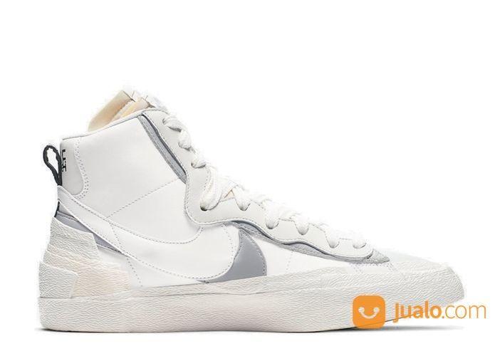 Nike Blazer Mid Sacai White Grey - US size 7 (24917579) di Kota Jakarta Selatan