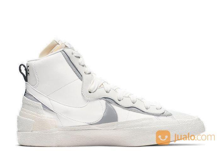 Nike Blazer Mid Sacai White Grey - US size 5 (24917763) di Kota Jakarta Selatan