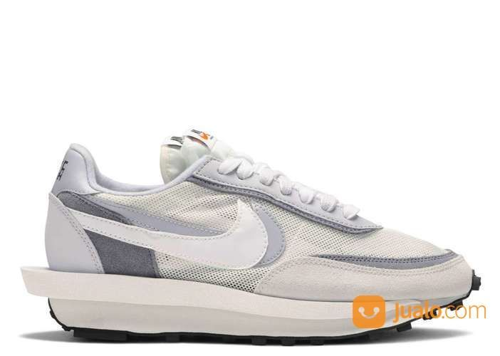Nike LD Waffle Sacai White Grey - US size 6 (24919851) di Kota Jakarta Selatan