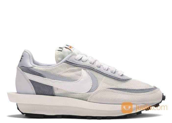 Nike LD Waffle Sacai White Grey - US size 5.5 (24920011) di Kota Jakarta Selatan