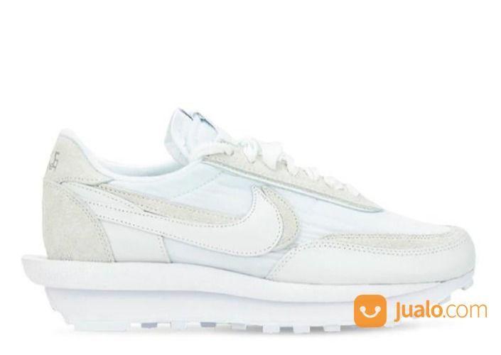 Nike LD Waffle Sacai White Nylon - US size 7.5 (24920627) di Kota Jakarta Selatan
