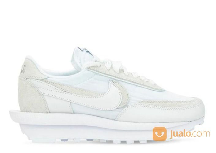 Nike LD Waffle Sacai White Nylon - US size 4.5 (24920675) di Kota Jakarta Selatan
