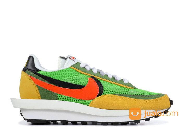 Nike LD Waffle Sacai Green Gusto - US size 5.5 (24921363) di Kota Jakarta Selatan