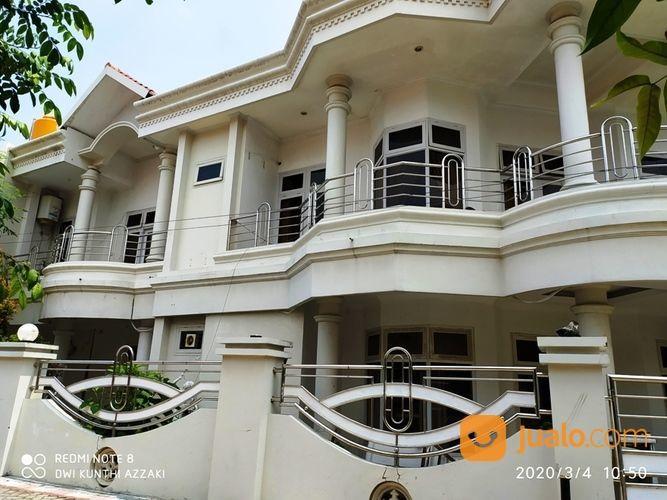 Rumah Putih Mewah Tengah Kota Semarang Di Perum BPD II (25032287) di Kota Semarang