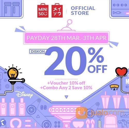Miniso Diskon 20% Off (25058031) di Kota Jakarta Selatan