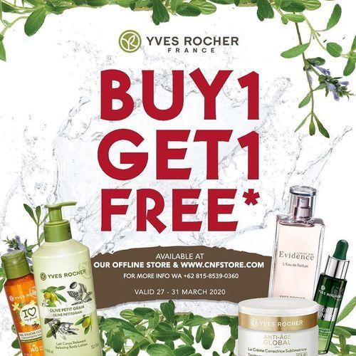 Yves Rocher Promo Buy 1 Get 1 Free (25066659) di Kota Jakarta Selatan