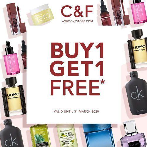 C&F Promo Buy 1 Get 1 Free (25067607) di Kota Jakarta Selatan