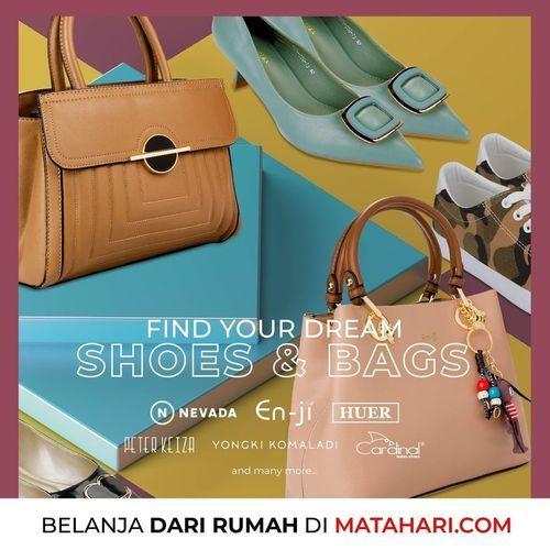 Matahari Shoes And Bags Up To 80% (25139347) di Kota Jakarta Selatan