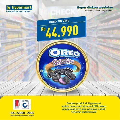 Hypermart Oreo Selection Diskon (25151527) di Kota Jakarta Selatan