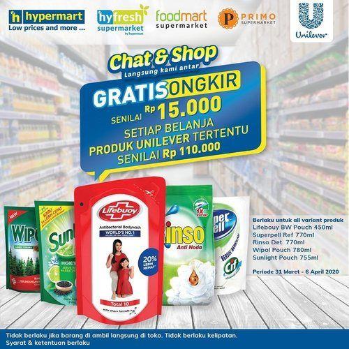 Hypermart Chat & Shop Gratis Ongkir (25151939) di Kota Jakarta Selatan