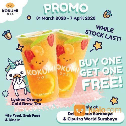 Kokumi Promo Buy 1 Get 1 Lychee Orange (25159071) di Kota Surabaya