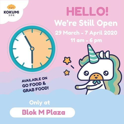 Kokumi Blok M Plaza Open Promo (25159595) di Kota Jakarta Selatan