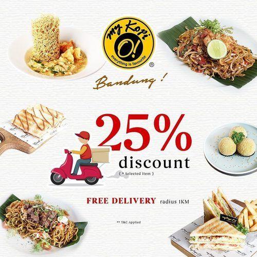 My Kopi-O! Bandung 25% Diskon + Free Delivery (25176051) di Kab. Bandung