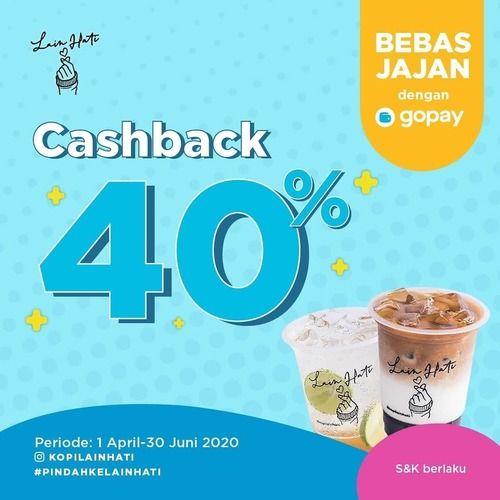 Kopi Lain Hati Cashback 40% GoPay (25176803) di Kota Jakarta Selatan