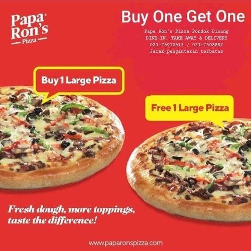 Papa Ron's Pizza Buy 1 Get 1 (25177287) di Kota Jakarta Selatan
