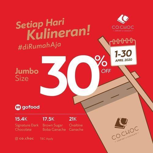Comfort of Chocolate CoChoc Jumbo Size diskon 30% Off (25224895) di Kota Jakarta Selatan