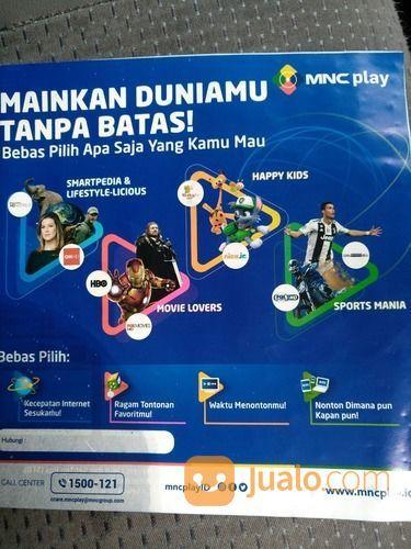 MNC Play Internet WiFi Tv Kabel Termurah (25225135) di Kota Bandung