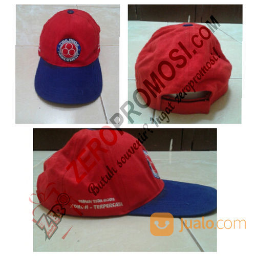 Topi Drill Royal Promosi - Konveksi Topi Souvenir (25229907) di Kota Tangerang