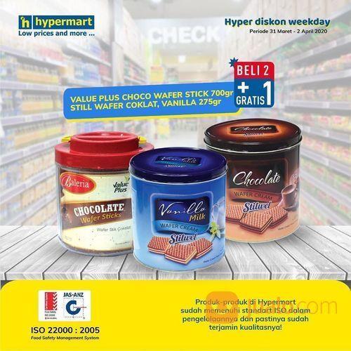 Hypermart Promo Wafer Buy 2 Get 1 (25235355) di Kota Jakarta Selatan