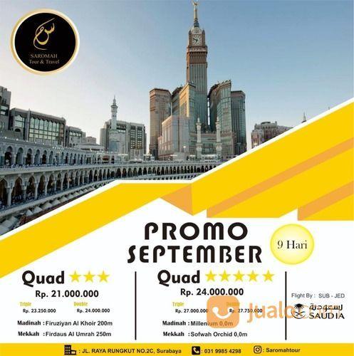 UMROH BULAN SEPTEMBER 2020 (25236203) di Kota Surabaya