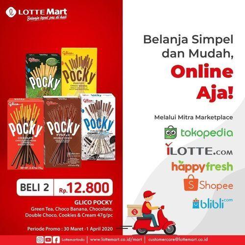 Lotte Mart Promo Pocky Online Aja (25237351) di Kota Jakarta Selatan