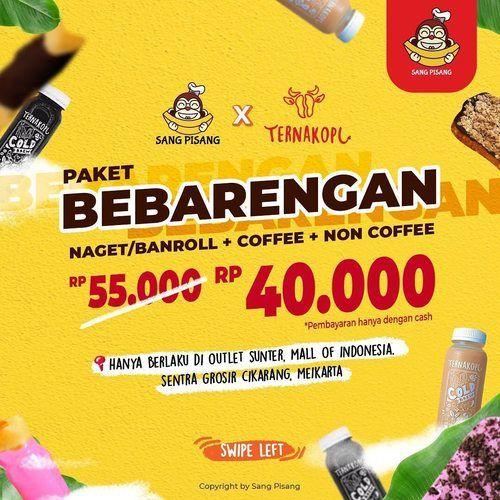 Sang Pisang Promo Paket Bebarengan (25255411) di Kota Jakarta Utara