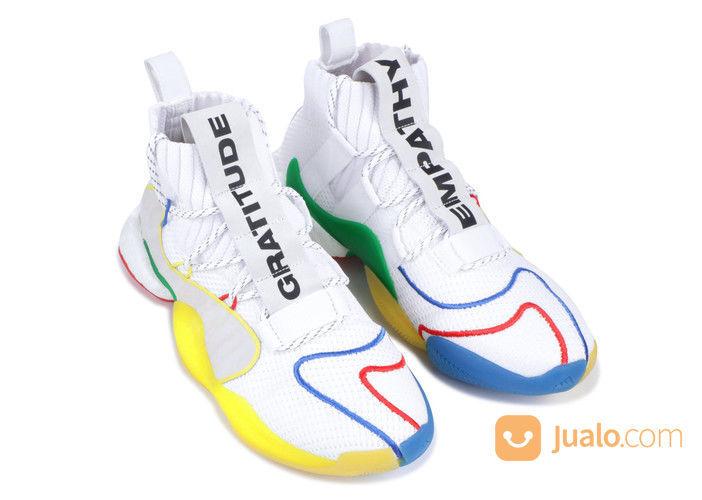 Adidas Crazy BYW LVL X Pharrell Alternate White - US size 11.5 (25255835) di Kota Jakarta Selatan