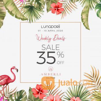 Lunadorii Weekly Deals SALE 35% OFF (25292791) di Kota Jakarta Selatan