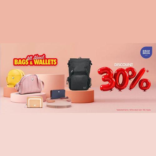BrunBrun Discount 30% Bags & Wallets Promo Tas dan Dompet (25300023) di Kota Jakarta Pusat