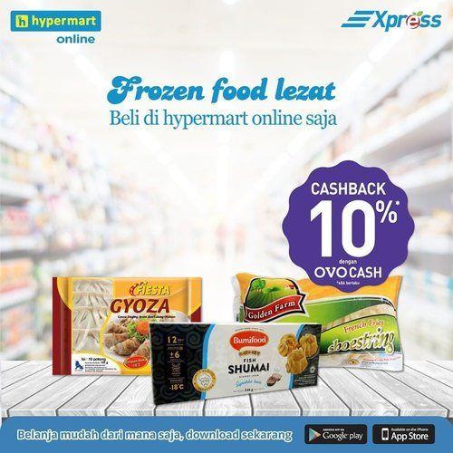 Hypermart Cashback Ovo Cash 10% (25303963) di Kota Jakarta Selatan