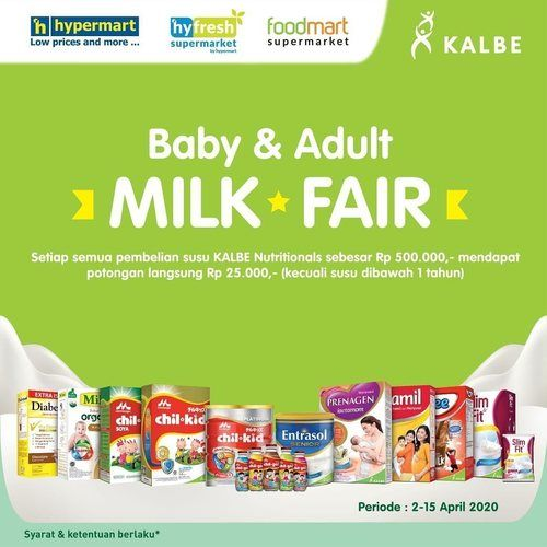 Hypermart Baby & Adult Milk Fair (25304367) di Kota Jakarta Selatan