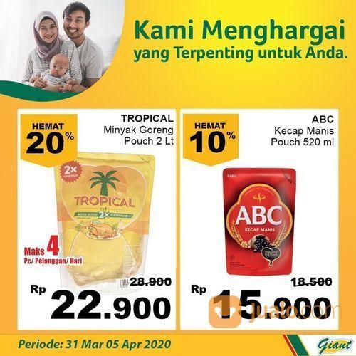 Giant Minyak & Kecap Diskon 20% (25304559) di Kota Jakarta Selatan