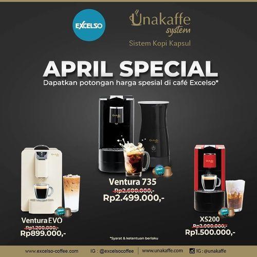 Excelso April Special Unakaffe System (25304899) di Kota Jakarta Selatan