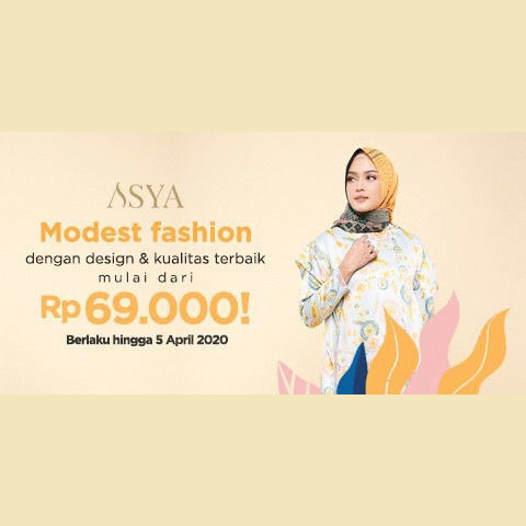 Sorabel x Asya Baju Muslim Promo Start From Rp 69.000 (25308747) di Kota Jakarta Pusat