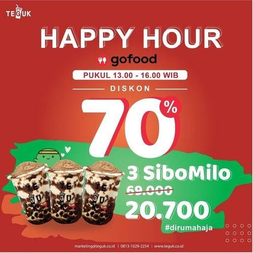 Teguk Happy Hour Gofood 70% (25310119) di Kota Jakarta Selatan