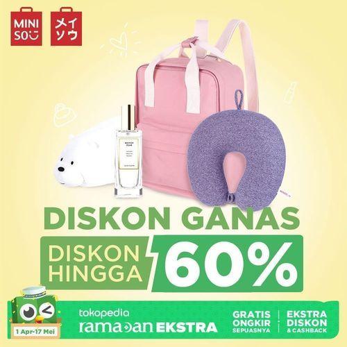 Miniso Promo Ramadhan Diskon Hingga 60% (25318539) di Kota Jakarta Selatan