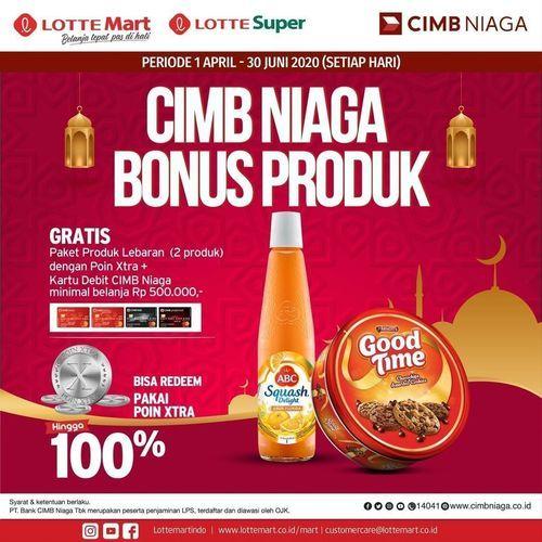 LotteMart CIMB Niaga Bonus Produk (25371499) di Kota Jakarta Selatan