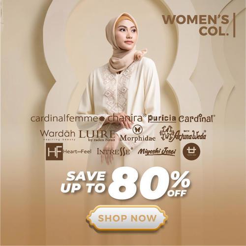 Matahari.com Busana Muslim Wanita Save Up to 80& (25378695) di Kota Jakarta Selatan