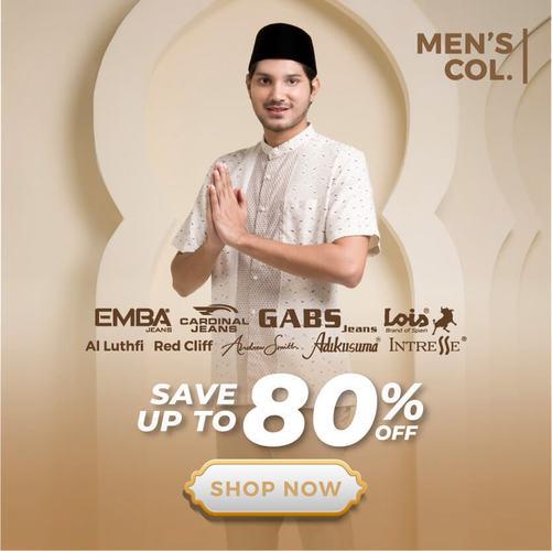 Matahari.com Baju Muslim Pria Save up to 80% (25378879) di Kota Jakarta Pusat