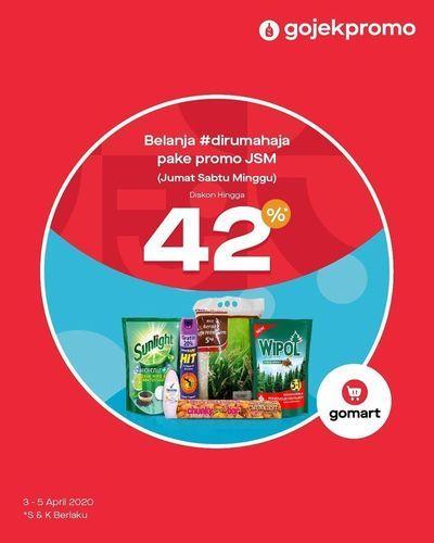 GoMart Diskon Hingga 42% Produk JSM (25401071) di Kota Jakarta Selatan