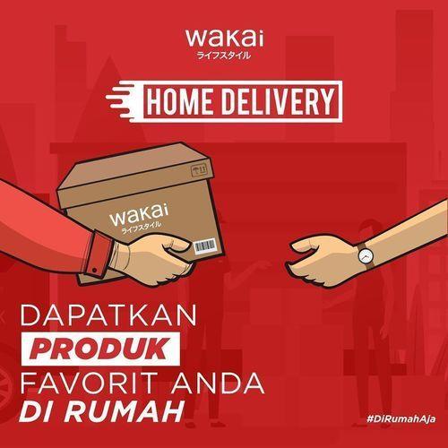 Wakai Home Delivery Promo Gratis ONGKOS KIRIM (25401675) di Kota Jakarta Selatan