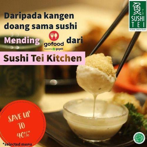 Sushi Tei Promo up to 40% via GoFood (25459827) di Kota Jakarta Selatan