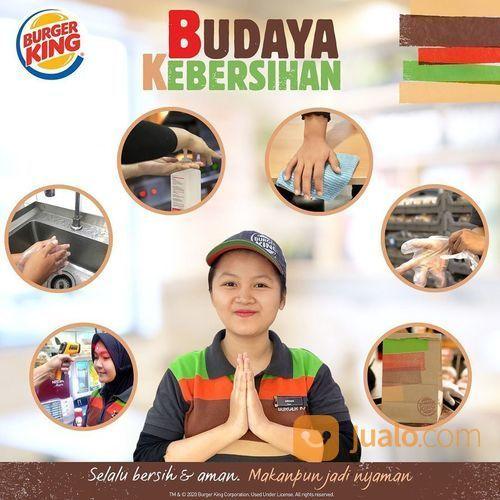 Burger King Promo King of the Week Harga mulai dr Rp 5000 (25460695) di Kota Jakarta Selatan
