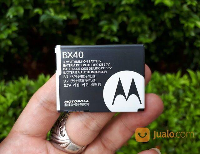 Baterai Motorola BX40 BX-40 New Original 100% RAZR2 V8 V9 740mAh (25461007) di Kota Jakarta Pusat