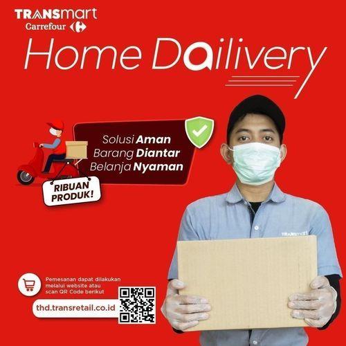 Transmart Home Delivery - Belanja Transmart Carrefour bisa lewat Online! (25461831) di Kota Jakarta Selatan