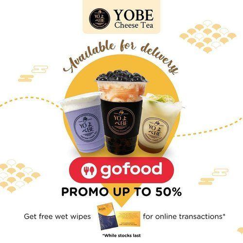 YOBE Cheese Tea Promo Gofood Up To 50% (25463879) di Kota Jakarta Selatan