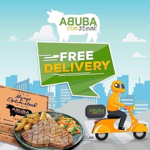 Abuba Steak Free Delivery (25465283) di Kota Jakarta Selatan